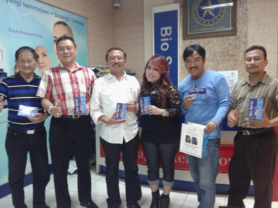 Foto Dokter Bambang dan Pak Bambang DH, ex- walikota Surabaya